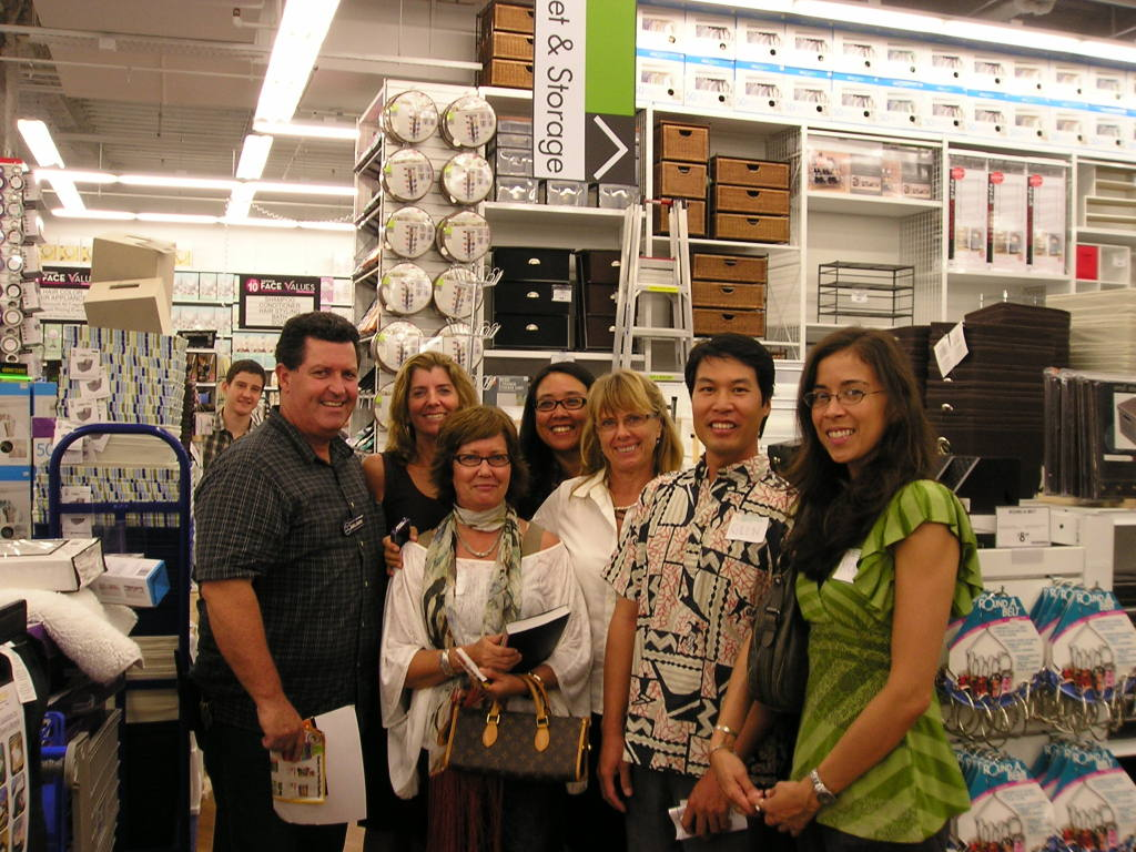 Denise Mazzanti, Karen Simon, Ellyn Sollars, Glen Pang, Nancy Nino, Nancy Koehler