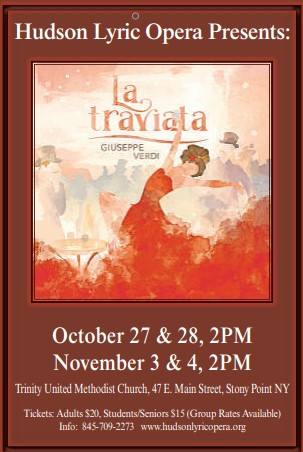 HLO's La Traviata for 2018 Fall