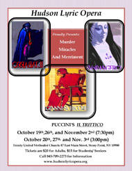 mini image of Il Trittico opera flyer