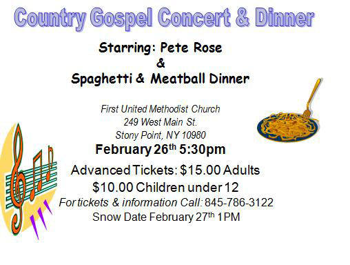 Country Gospel Concert