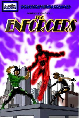 graphic: cover The Enforcers 1